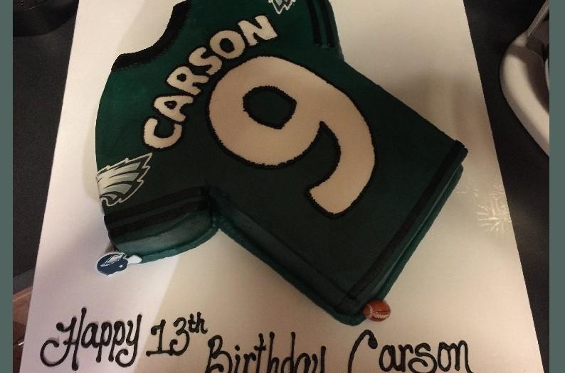 cannons carson eagle cake